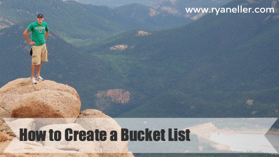 How to Create a Bucket List